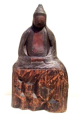 「円空作仏像聖観音像 有珠善光寺」の画像検索結果